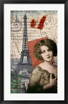 Framed Paris Memento Print