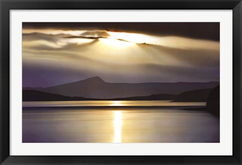 Framed Evening Splendour Print