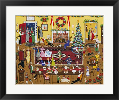 Framed Holidays With Family And Friends Print