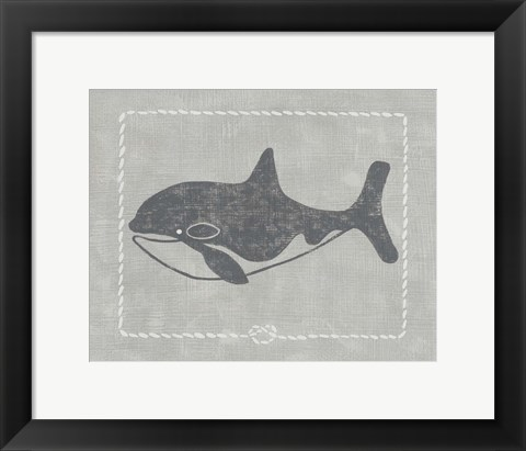 Framed Whale of a Tale II Print