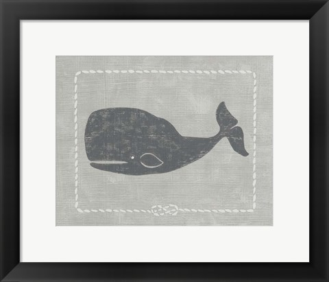 Framed Whale of a Tale IV Print