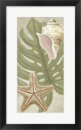 Framed Palm Beach III Print