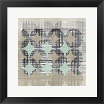 Framed New Pattern II Print