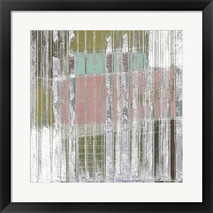 Framed Linear Mix II Print