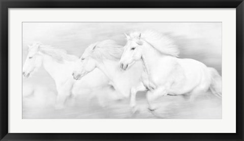 Framed All the White Horses Print