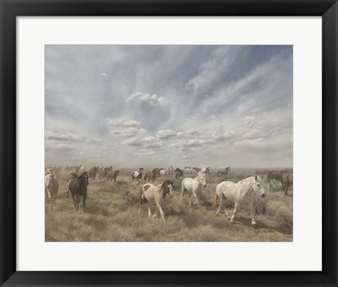 Framed Big Sky Print