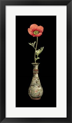 Framed Poppy Magic III Print