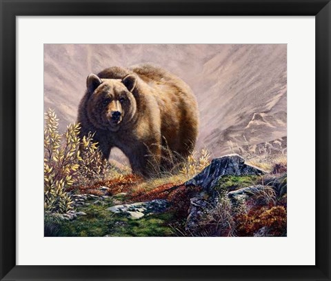 Framed Beary Delight Print