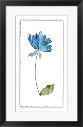 Framed Floral Watercolor VI Print