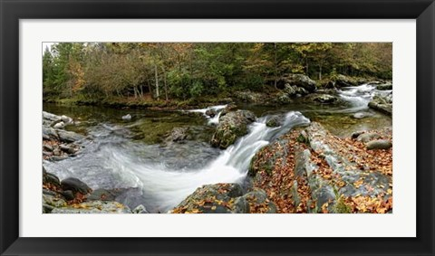 Framed River Panorama Print