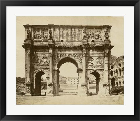 Framed Arch of Constantine Print