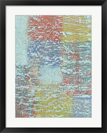 Framed Bold Textures II Print