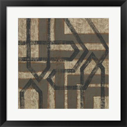 Framed Directional II Print