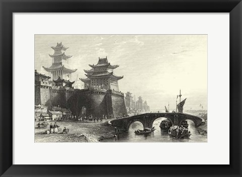 Framed Scenes in China IX Print