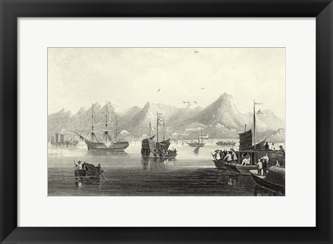 Framed Scenes in China XII Print