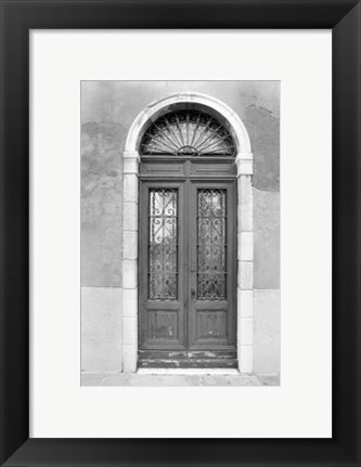 Framed Venetian Doorways III Print