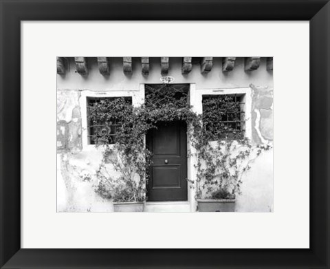 Framed Venetian Doorways V Print