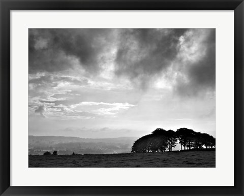 Framed Storm Clouds Print