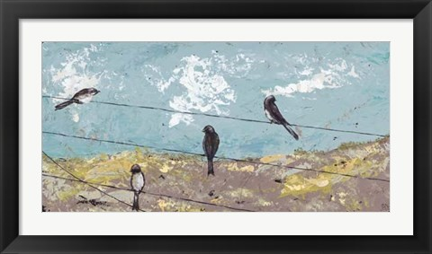Framed Highwire Act Print