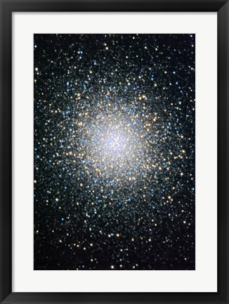 Framed Great Globular Cluster in Hercules Print