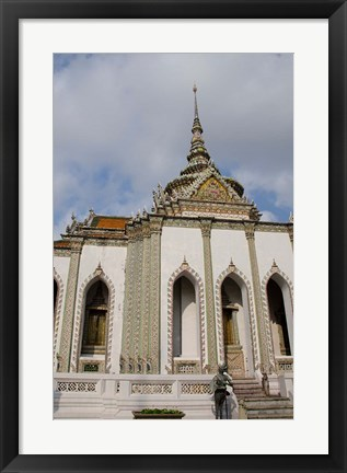 Framed Grand Palace, Scripture Library, Bangkok, Thailand Print