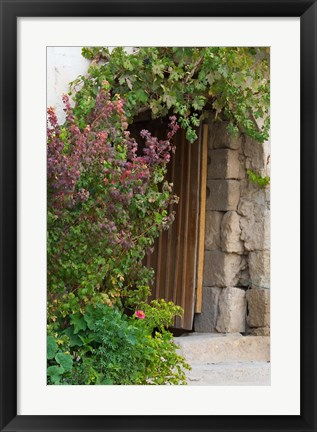 Framed Doorway in Small Village in Cappadoccia, Turkey Print