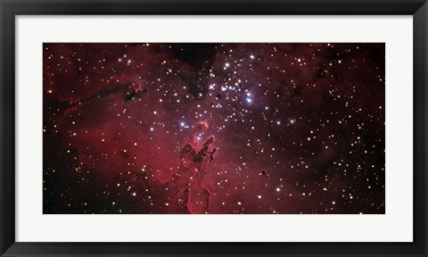Framed Eagle Nebula Print