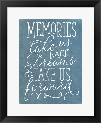 Framed Memories and Dreams Print
