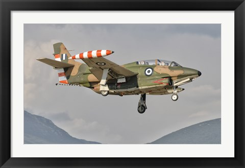 Framed T-2 Buckeye of the Hellenic Air Force at Kalamata Air Base, Greece Print