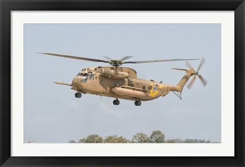 Framed Sikorsky CH-53 Yasur of the Israeli Air Force Print