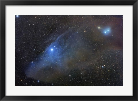 Framed Reflection complex in Scorpius Print