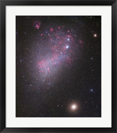 Framed Small Magellanic Cloud (close up) Print