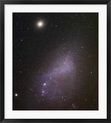 Framed Small Magellanic Cloud Print