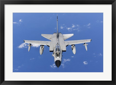 Framed Panavia Tornado IDS of the Italian Air Force (top view) Print