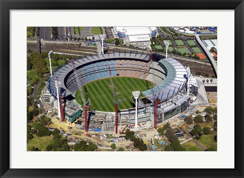 Framed Melbourne Cricket Ground, Melbourne, Victoria, Australia Print