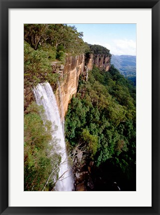 Framed Australia, New South Wales, Fitzroy Falls Print