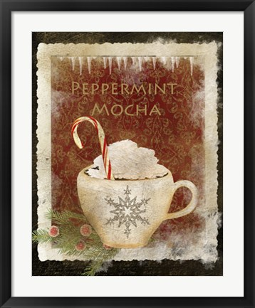 Framed Peppermint Mocha Print