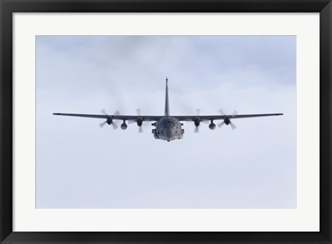 Framed MC-130H Combat Talon (front view) Print
