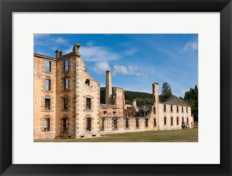 Framed Port Arthur historic penitentiary, Australia Print