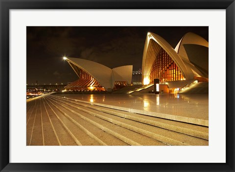 Framed Australia, New South Wales, Sydney Opera House Print