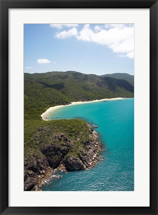 Framed Turtle Bay, near Cairns, North Queensland, Australia Print