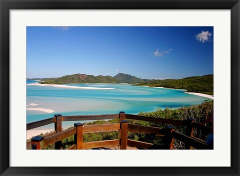 Framed Whitsunday Islands, Australia Print