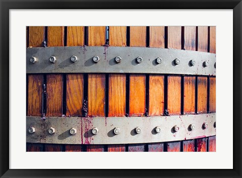 Framed Australia, Barossa Valley, Hydraulic presses, Winery Print