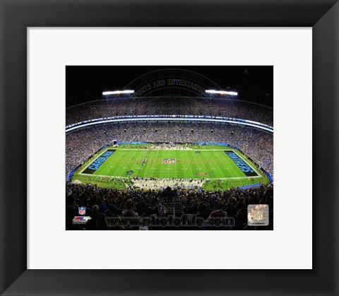 Framed Bank of America Stadium 2014 Print