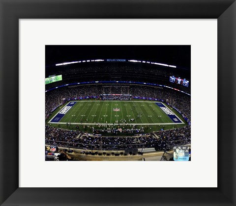 Framed MetLife Stadium 2014 Print