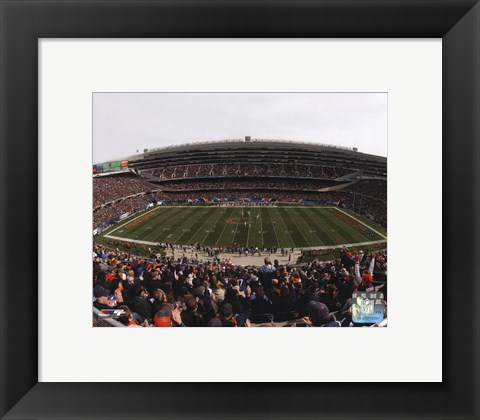Framed Soldier Field 2014 Print