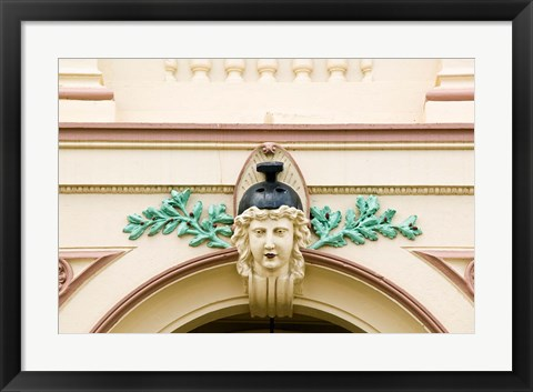 Framed Australia, Queensland, Maryborough Building detail Print