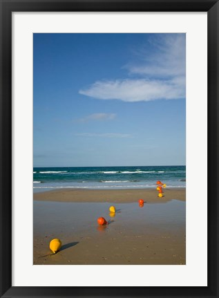Framed Australia, Queensland, Rainbow Beach Print