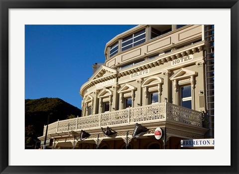 Framed Picton, Marlborough, South Island, New Zealand Print
