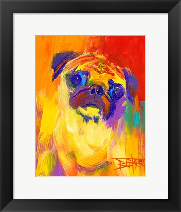 Framed Pugness Print